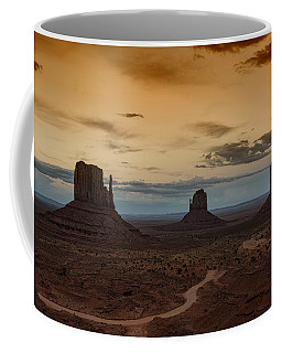 The Magical Beauty Of Monument Valley  Coffee Mug