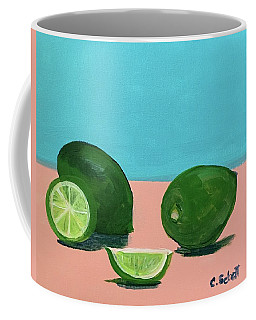 The  Magnificent Fruit From The Lime Tree II Coffee Mug