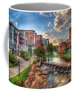 The Main Attraction Reedy River Greenville South Carolina Art Coffee Mug