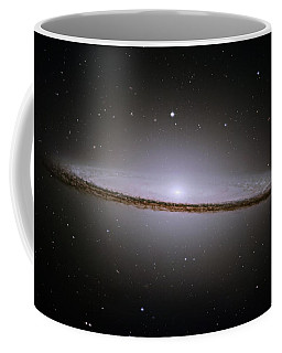 The Majestic Sombrero Galaxy Coffee Mug