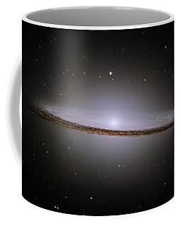The Majestic Sombrero Galaxy Coffee Mug