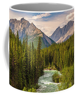 Coffee Mug featuring the photograph The Maligne River by Mark Mille