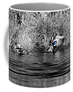 The Mallard Drake Coffee Mug by Sheila Ping