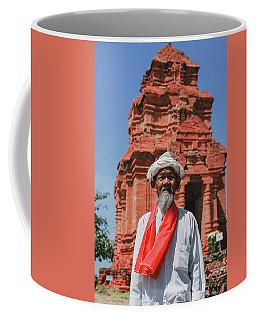 The Man Holds The Tower Champa Coffee Mug