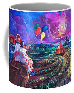 The Man In The Tent Coffee Mug by Randy Burns