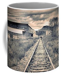 The Man On The Tracks Coffee Mug
