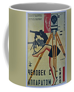 The Man With A Movie Camera Coffee Mug
