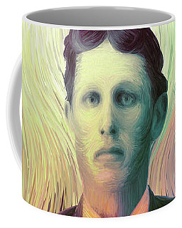 The Man With The Eyes Coffee Mug