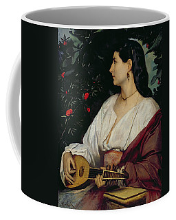 The Mandolin Player Coffee Mug
