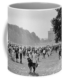 The March On Washington  Heading Home Coffee Mug