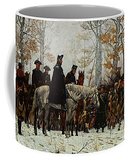 The March To Valley Forge, Dec 19, 1777 Coffee Mug