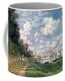 The Marina At Argenteuil Coffee Mug