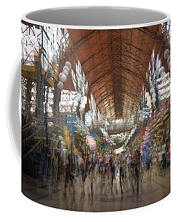 Coffee Mug featuring the photograph The Market Hall by Alex Lapidus
