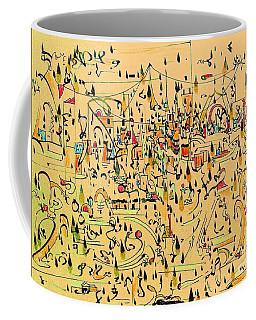 The Marketplace Coffee Mug by Nancy Kane Chapman