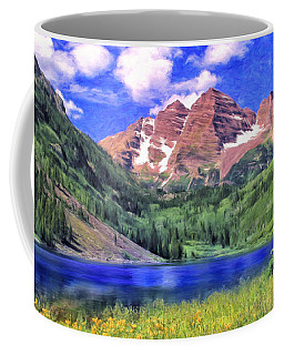 The Maroon Bells Coffee Mug