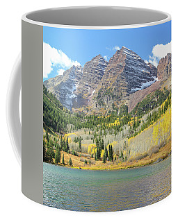 The Maroon Bells 2 Coffee Mug by Eric Glaser
