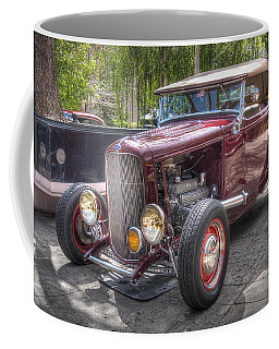 Maroon T Bucket Coffee Mug