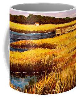 The Marsh At Cherry Grove Myrtle Beach South Carolina Coffee Mug