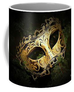 Coffee Mug featuring the photograph The Mask by Darren Fisher