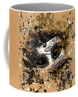 The Mask Of Fiction Coffee Mug