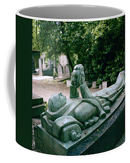 The Mask Of Meditation Coffee Mug by Shaun Higson