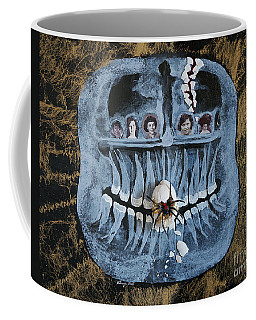 The Matriarchal Tyranny Of The Black Widow Spider Coffee Mug by Stanza Widen