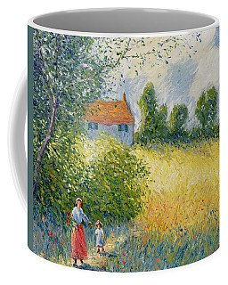 The Meadow Path  Coffee Mug