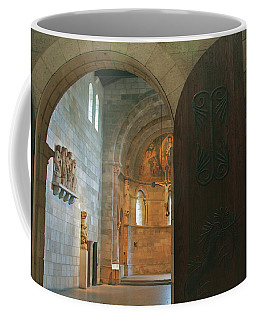 An Early Morning At The Medieval Abbey Coffee Mug