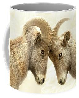 The Meeting Of The Minds Coffee Mug