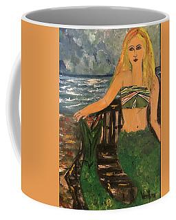 The Mermaid Of Kanaha Pond Coffee Mug