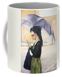 The Message Coffee Mug by Marlene Book