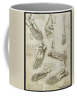 Coffee Mug featuring the painting The Metatarsal by James Christopher Hill