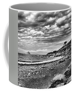 The Mewstone, Wembury Bay, Devon #view Coffee Mug