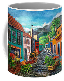 Coffee Mug featuring the painting In Love With Old Mexico by Randol Burns