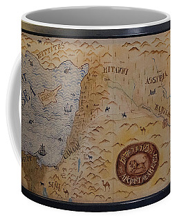 Coffee Mug featuring the photograph The Middle East by Mae Wertz