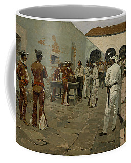 The Mier Expedition The Drawing Of The Black Bean  Coffee Mug