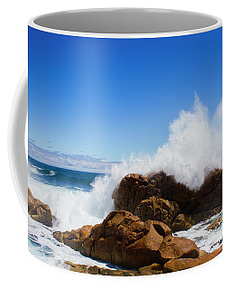 Coffee Mug featuring the photograph The Might Of The Ocean by Jorgo Photography - Wall Art Gallery