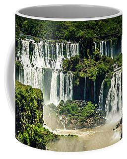 The Mighty Iguazu  Coffee Mug by Andrew Matwijec