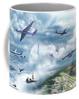 The Mighty Loring A F B Coffee Mug by Dave Luebbert