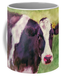Coffee Mug featuring the photograph The Milk Maid by Lois Bryan