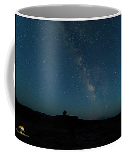 Coffee Mug featuring the photograph The Milky Way At Goblin Valley by Jim Thompson