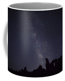 The Milky Way Over Turret Arch Coffee Mug