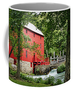 The Mill At Alley Spring Coffee Mug by Cricket Hackmann