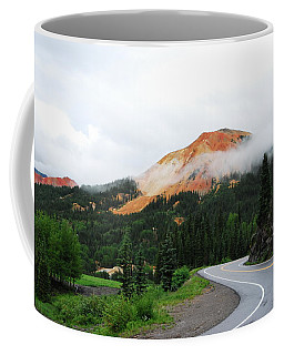 The Million Dollar Highway To Ouray Coffee Mug