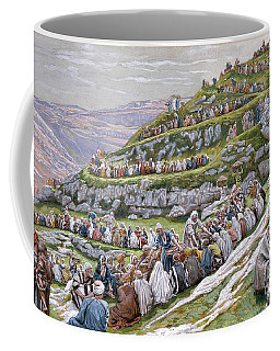 The Miracle Of The Loaves And Fishes Coffee Mug