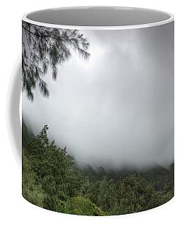 The Mist On The Mountain Coffee Mug