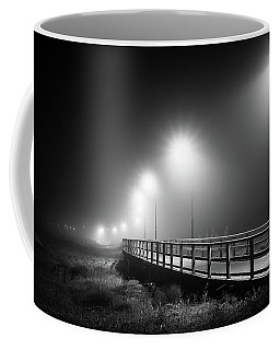 The Misty Walkway. Coffee Mug