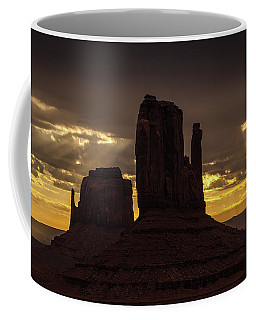 The Mittens Sunrise Coffee Mug