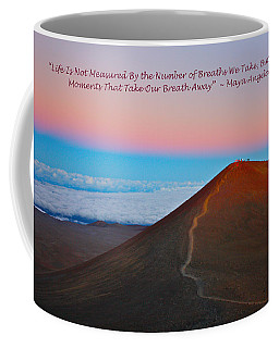 The Moments That Take Our Breath Away Coffee Mug by Venetia Featherstone-Witty