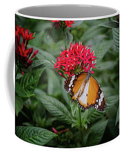 The Monarch Butterfly Coffee Mug by Michelle Meenawong